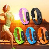 better windows - New E06 Smartband Smart bracelet Wristband Fitness tracker Bluetooth fitbit flex Watch for ios android better than mi band