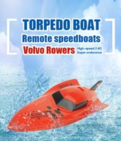Wholesale Shenzhen Factory Torpedo Boat Remote Speedboats Volvo Rowers High Speed G Super Endurance