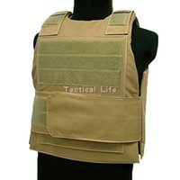 Wholesale New Tactical Army Durable Vest Police Combat Outdoor Hunting CS Military Airsoft Safety Vest Black Tan Green