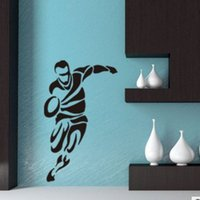 abstract movement - Abstract basketball movement wall stickers children room decoration stickers can be removed