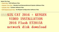 Wholesale 2016 SIS Flash ET2015A activator SIS and ET2015A network disk download