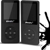 Original RUIZU X02 Luz ultrafina Deportes MP3 Player AVI 4GB de almacenamiento y 1,8 pulgadas de pantalla puede jugar 80 horas Lossless Flac Ape