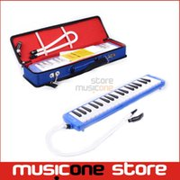 Wholesale SWAN SW37J Key Melodica Full Mouth Organ Music Theory with Soft Box