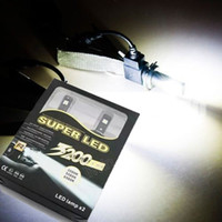 Wholesale New Design X Plug Play H1 CREE chip LED W LM K Xenon White Bulb Replacement DRL Daytime Driving Fog Headlight