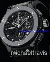 aero gifts - 2014 new hot sale Christmas gift aero automatic top brand morgan mens watch big bang black rubber band