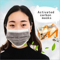 activated charcoal mask - 2016 New Good Quality Pieces Individually Packaged One time Anti dust Haze Charcoal Activated Carbon Masks Good Mouth Masks