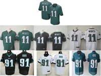 Wholesale rugby elite game Eagles jerseys embroidery men s women youth cox jerseys wentz jerseys cheap More than pieces of