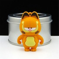 animation disks - Garfield cartoon U disk G animation creative personality lovely gifts U disk can be customized LOGO