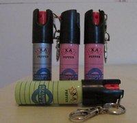 Wholesale 5pcs Key chain PEPPER SPRAY SELF DEFENSE ML Self defense equipment Women s anti wolf equipment