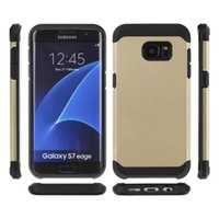 active dual - Dual Layer Combo Slim Armor Cell Phone Protection Hybrid Case For Samsung Galaxy S5 S6 S7 Active G879 G890 Cover shell skin Shockproof