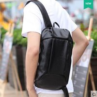 Wholesale Brand Women And Men Backpack Fashion Casual PU Leather Backpacks School Style Solid Student Mini Backpack Business Package