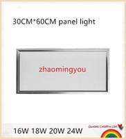 Wholesale 10pcs W W W W led CM CM panel light Slim panel mm mm led ceiling panel light warm white pure white cool white