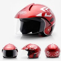 best kid bikes - Cute Children Bike Motorcycle Helmet Comfortable Safety Half face ABS Material colors optional Best Children Kid Gift