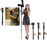 Wholesale CM quot Professional Tripod Camera Monopod WT for Nikon D3200 D3100 D3000 D4 D80 D800 D7000 D5100 D5000 SLR