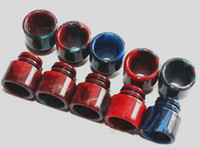 best selling tips - epoxy resin drip tip mouthpiece for e cig vape rda atomizer for kangertech tank best selling