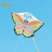 bamboo styling products - Beach kites Meters Medium Colorful Butterfly Styles Foldable animal Kite Outdoor Recreation Products Sports Cute Kite