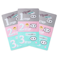 acne clearing mask - 600pcs holika Pig Nose Clear Black Head Step Clear BlackHead Mask Blackhead Remover holika Pig Nose Clear holika Nose mask