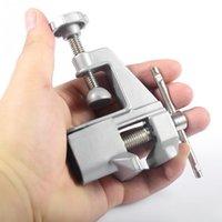 Wholesale 1pc New Portable Mini Bench Vise Aluminum Vise Maximum opening M Workshop Vice Professional Fixed Repair Tools