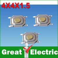 Wholesale PC SMD MM X4X1 MM Tactile Tact Push Button Micro Switch Momentary CGKCH079