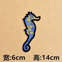 artistic clothing - Embroidered cloth patch clothes hole patch sewing ironing cartoon animation behavior artistic personality group