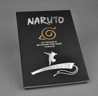 Gros-2016 Nouvelle Papeterie créative Anime NoteBook Naruto Notebook Remarque Pocket-book journal Collection Cosplay Carnet de Voyage 210