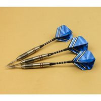 Wholesale 3pcs set Professional Darts Needle g Steel Tip Darts With Copper And Aluminum Dart Shaft Flight High Quality