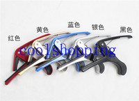Wholesale Tune Quick Change Trigger Clamp Key Capo for Classical Acoustic Electric Guitar
