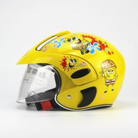 bicycle safety for kids - 2016 popular Kids Stunt Bicycle Motor Mountain Bike Carton Full Face Helmet for Child Safety