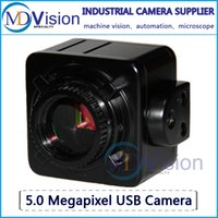 Wholesale 5MP USB Cmos Camera Electronic Digital Eyepiece Microscope Free Driver High Resolution Camera for Win10 XP Win8 Mac OS Linux