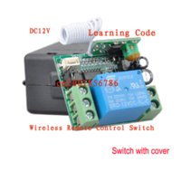 access batteries - Wireless RF Remote Control Switch DC V A CH M Transmitter With Battery Receiver Case Access door System