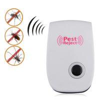 Wholesale 1Pc Electronic Multi Purpose Ultrasonic Anti Pest Bug Mosquito Cockroach Mouse Repeller EU Plug
