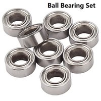 Wholesale 10Pcs HSP Miniature Radial Ball Bearings RC Car Ball Bearing for Redcat Exceed AMAX HIMOTO VTO Car