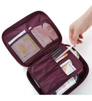 b cosmetic bag - Waterproof Woman Lady Cosmetic Bag Makeup Bags Caseanties Socks Storage B Travel Portable Storage Box Case
