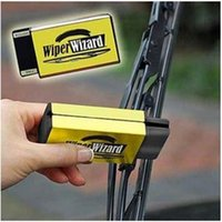 Cheap Hot selling! New Car Van Wiper Wizard Windshield Wiper Blade with 5 Wizard Wipes Restorer Cleaner
