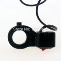 Wholesale Hot DIY Motorcycle Tuning quot mm On Off Button Handlebar Headlight Lighting Switch For Autocycle Sport Dirt Bike Motorbike