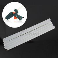Wholesale A25 Art Craft Repair Tool W Electric Heating Hot Melt Glue Gun Sticks Trigger mm Hot Melt Glue Sticks