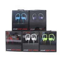 Wholesale Used powerbeats wireless Sport Bluetooth Headset powerbeats Active collection noise Cancel headphone Colors with retail box
