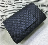 beaded travel - XXXL CM Real Leather Shoulder Bag Handbag Backpack Travel Bags Luggage A91169