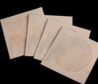 cd dvd sleeves - 100pcs x12 cm square size Disc CD Sleeve CD packaging Envelopes Pack bags gsm Kraft Paper CD DVD Bag CD cover