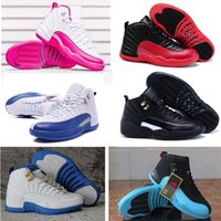Wholesale With box basketball shoes for women men sport shoes Retro mens Basketball Shoes S Blue white black pink High Quality Size5