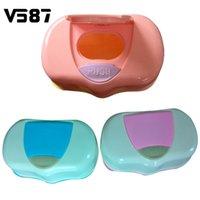 bathroom accessories europe - Plastic Wet Tissue Automatic Case Baby Wipes Tissue Case Box Care Bathroom Accessories Press Pop up Design