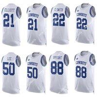 Wholesale Nik Elite Dallas Dez Bryant Cowboys Ezekiel Elliott Emmitt Smith Sean Lee Jerseys Soccer Rugby Football Jersey Fashion