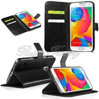 apple flap - Hot Sale Cell Phone Cases For Samsung Galaxy S5 Mini Magnetic Flap Wallet Pouch PU Leather Flip Stand Protective Cover