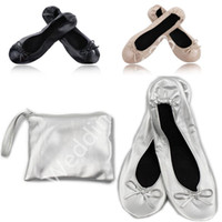 b twist - Roll Up Shoes Pocket Pumps Wedding Shoes Hen Party Ladies Gifts Twist Shoes