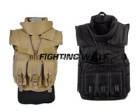 airsoft body armor - Outdoor Military Combat Airsoft Wargame Paintball Tactical SDU Body Armor Vest Durable Nylon Material Lightweigt Wearable Vest