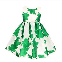 Wholesale 2016 New Flowers Girl Dress Ball Gown Ruffles Summer Sleeveless Girls Dresses Princess Tutu Wedding Kids Party Pageant Zk0546