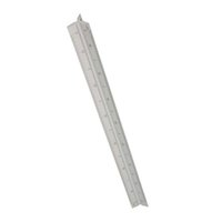 architect ruler - cm Aluminium Tri Scale Metal Ruler Architect Engineers Technical Rule For Measuring Tools quot