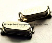 Wholesale MHz Passive Quartz crystal oscillator HC SMD M New products and ROHS