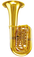 Wholesale C Key Tuba Four Rotary Valve Height mm with Foambody Case Musical instruments Shipping time days