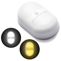 auto porches - Wireless LED Night Light with Motion Sensor Battery Powered Wall Path Lamp Auto Indoor Lanterns for Bar Porch Living Spaces Bathroom